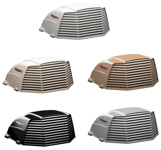 maxxair II vent covers